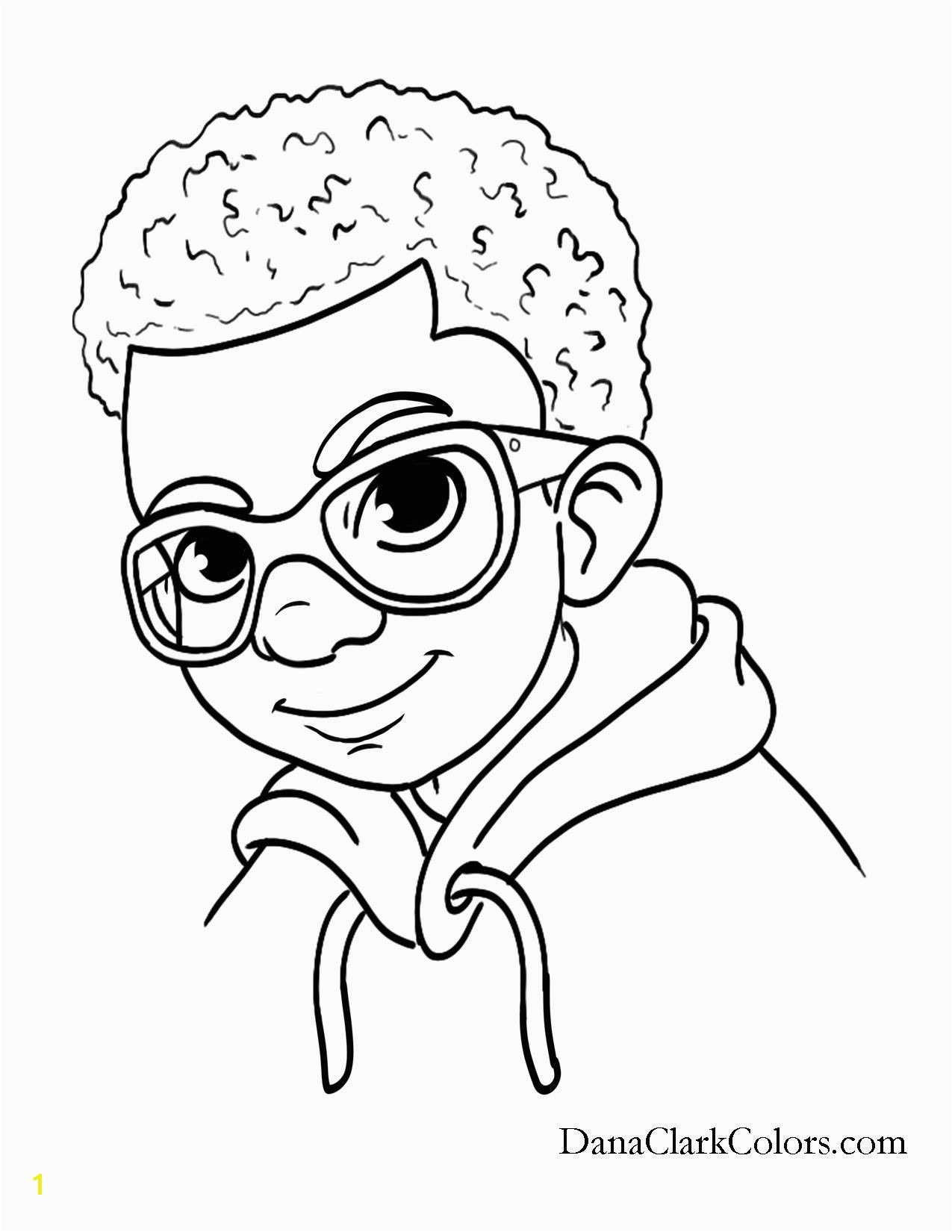 African American Black African boys and girls of color great coloring pages