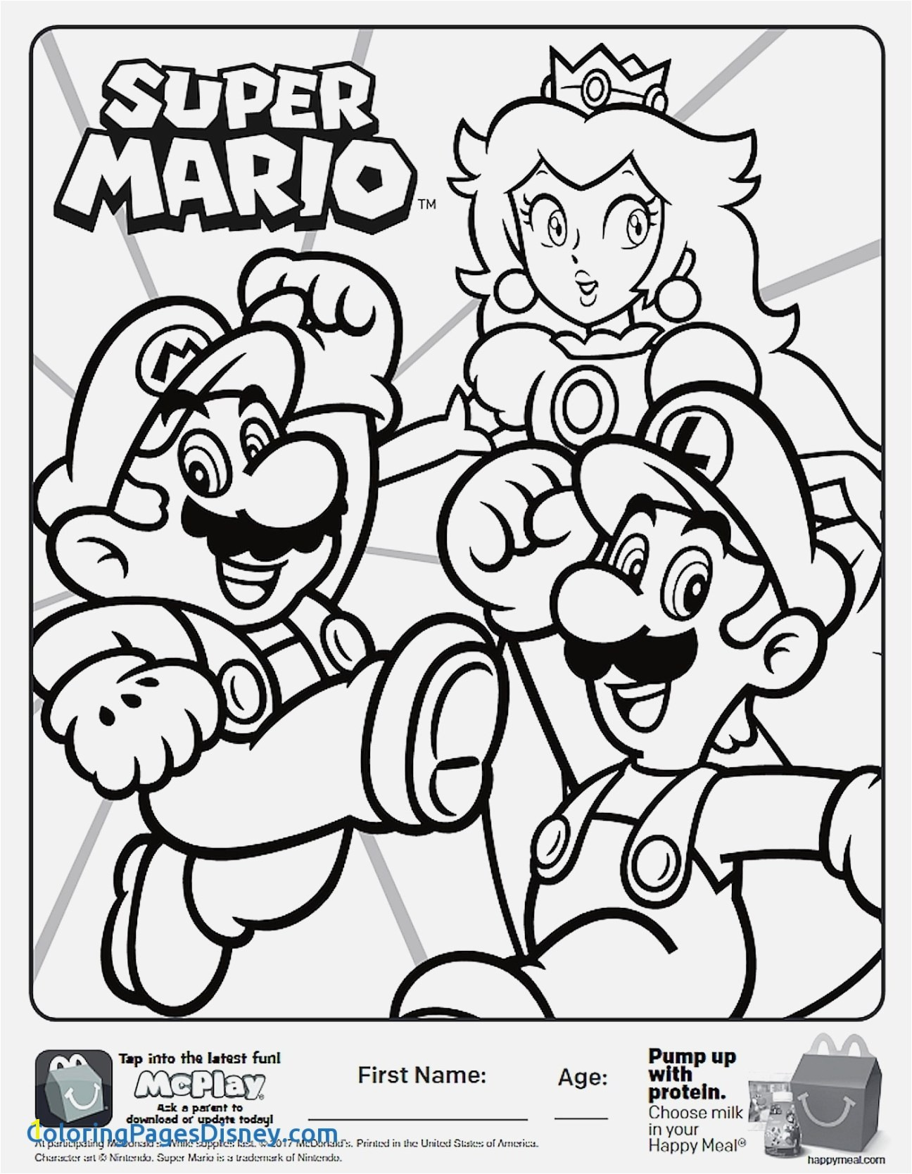 Printable Coloring Pages Disney Free Coloring Pages & Book for Kids and Adult