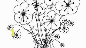 Coloring Pages Flowers In A Vase to Print