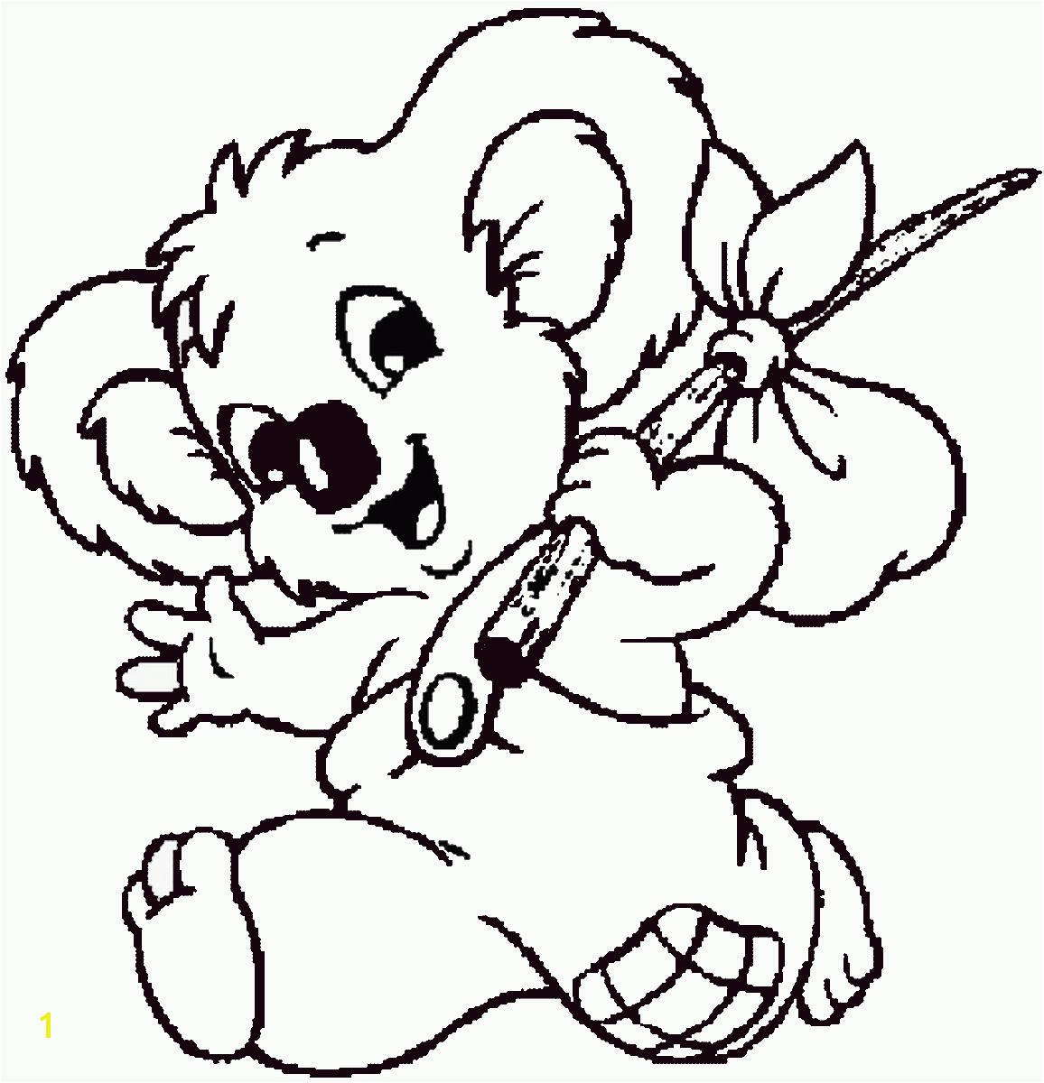 blinky bill coloring1