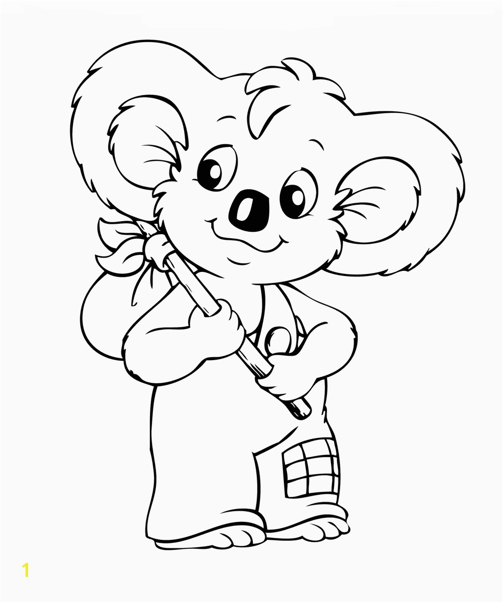 blinky bill coloring3
