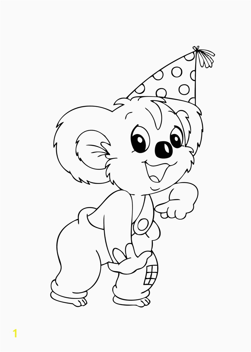 13 Blinky Bill pictures to print and color