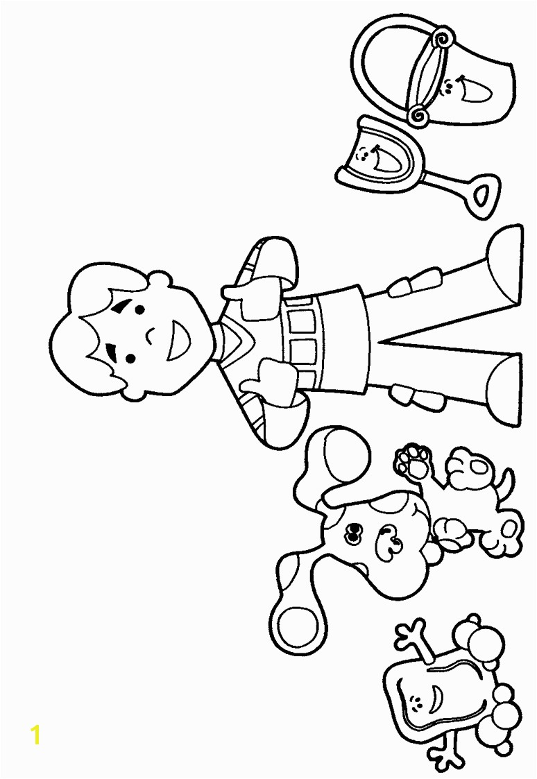 blues clues coloring pages 23e smartness design blues clues coloring pages imposing ideas with joe coloringstar and childlife me