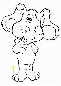 45 Blue s Clues printable coloring pages for kids Find on coloring book thousands of coloring pages