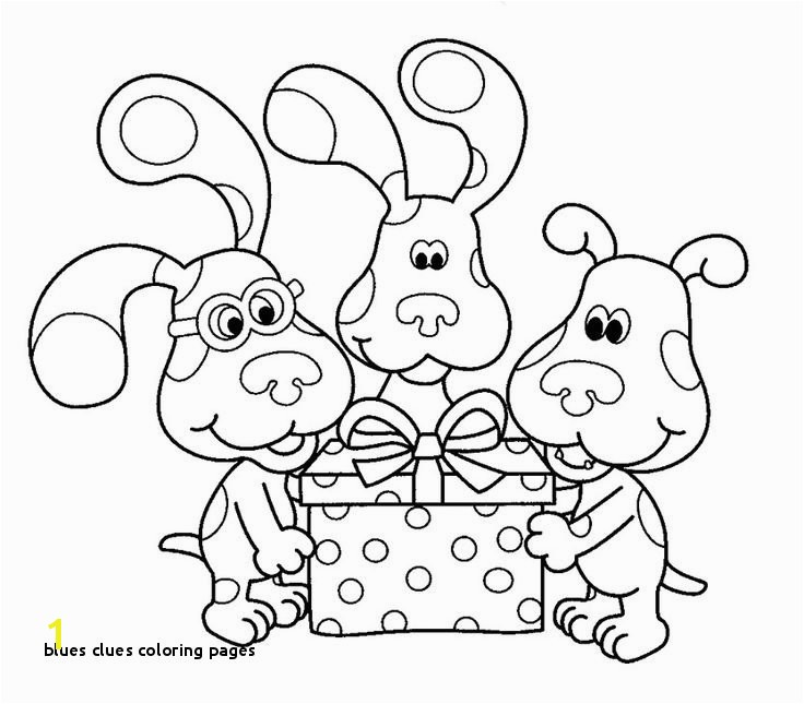 27 Blues Clues Coloring Pages