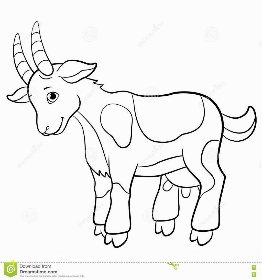 Boer Goat Coloring Pages Boer Goat Coloring Pages Fresh Fresh Baby Goat Coloring Pages with