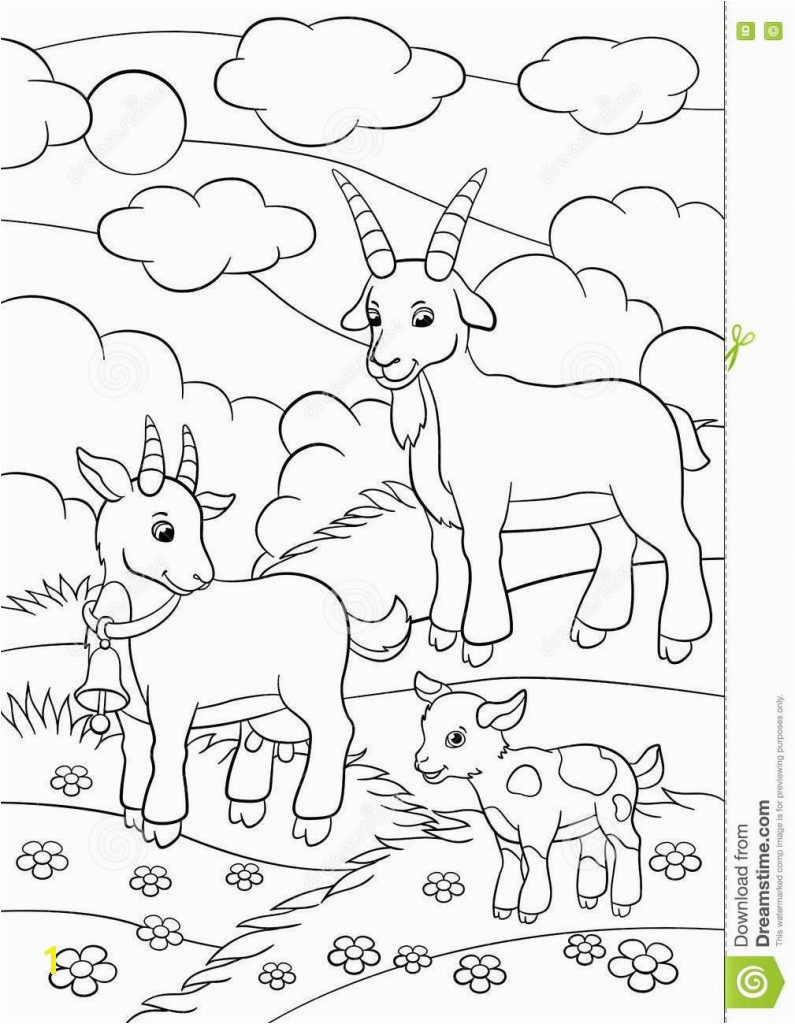 Goat Coloring Pages Luxury 20 Fresh Boer Goat Coloring Pages Goat Coloring Pages Fresh 19