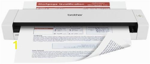Brother Mobile Color Page Scanner DS 720D Fast Scanning pact and Lightweight Duplex Scanning
