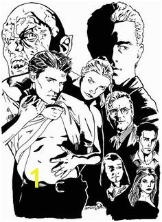 Buffy Coloring Pages 645 Best Buffy the Vampire Slayer Images On Pinterest In 2018