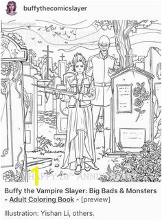Buffy Coloring Pages Buffy the Vampire Slayer Season 10 Dark Horse issue 04 Page