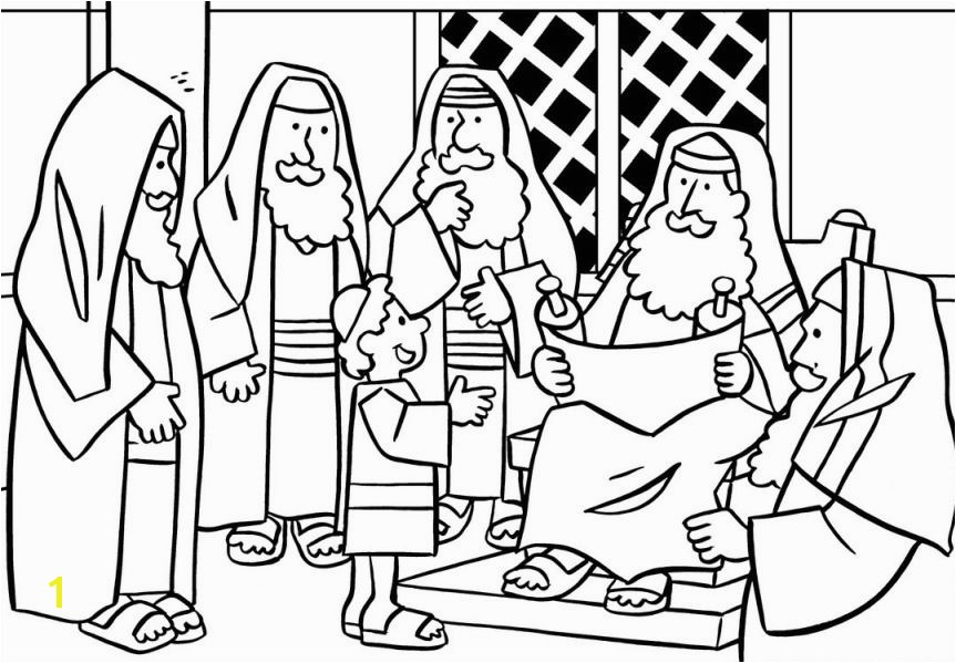 Building the Temple Coloring Pages Jesus In the Temple Coloring Page Teaching Super 3 S
