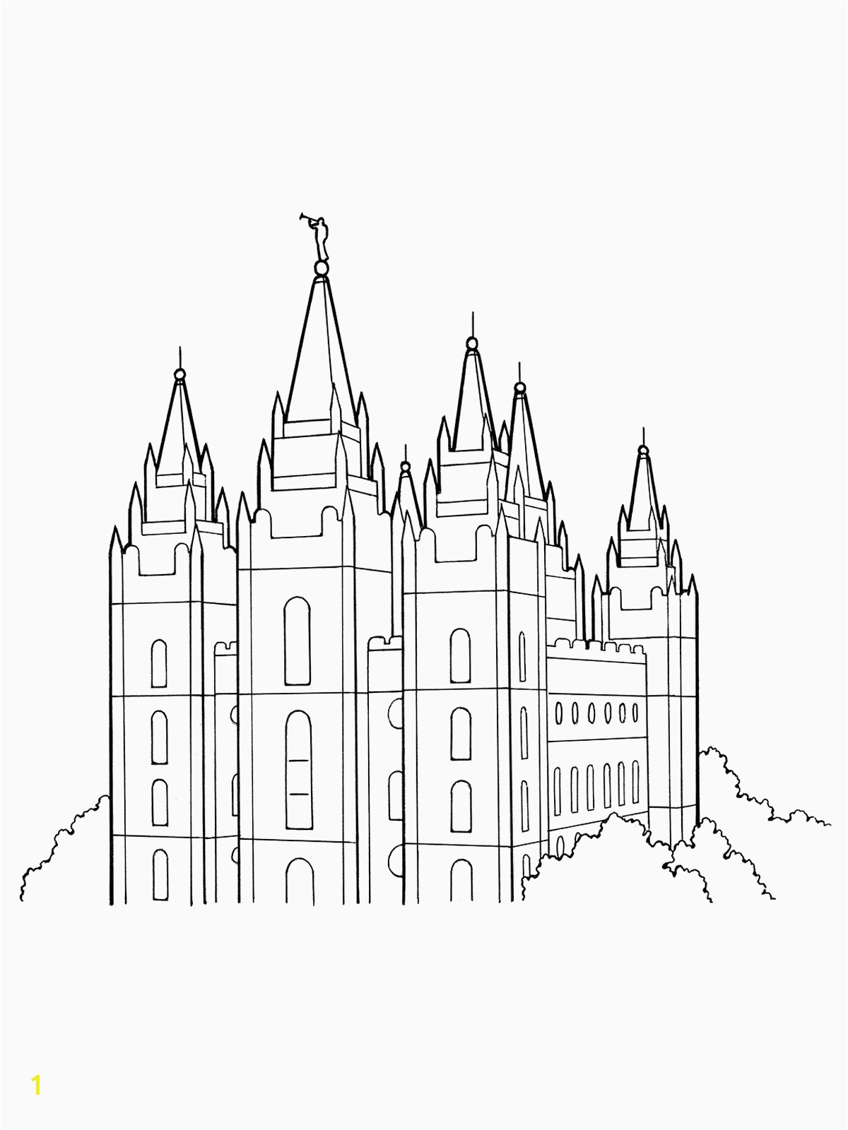 Lds Coloring Pages Pdf Inspirational Lds Church Building Coloring Page