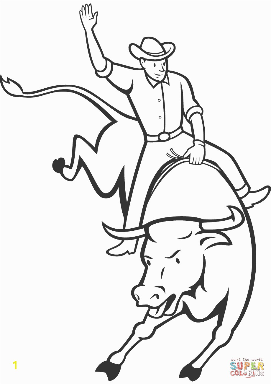 Bull Head Coloring Page Destiny Bull Head Coloring Page Rodeo Riding Free Printable Pages