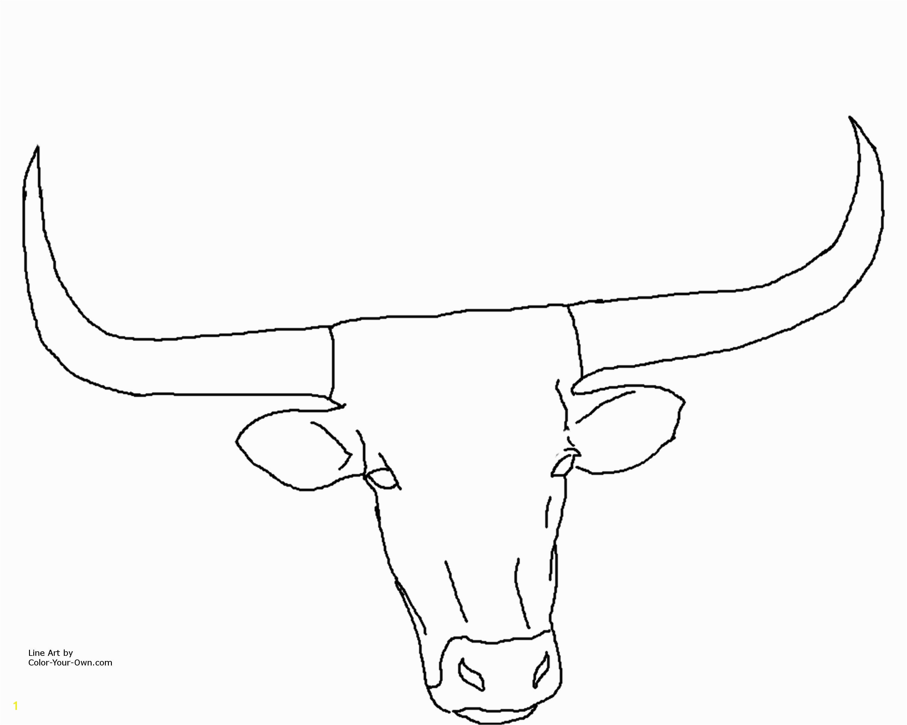 Value Bull Head Coloring Page Crammed 1500 1060 Tarkhis Shwepyithu