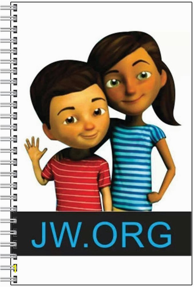 Caleb & Sophia JW Meeting Convention Assembly Notebook Jehovah s Witnesses
