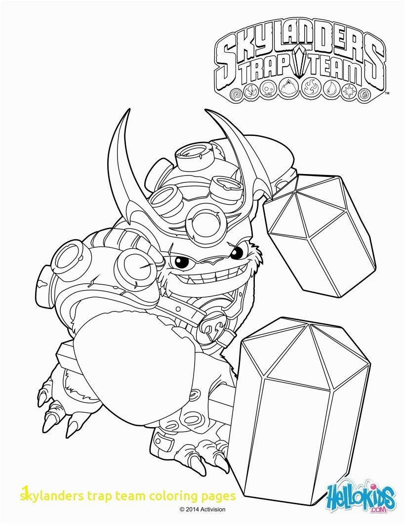 Skylanders Coloring Pages Collection