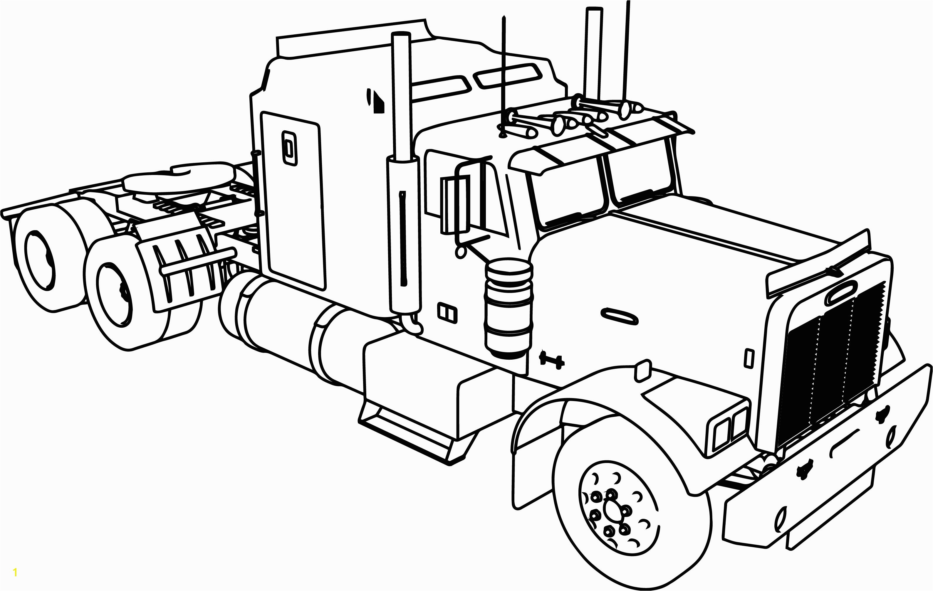 3176x2013 Amazing Truck And Trailer Coloring Pages Rv Camper Page Free