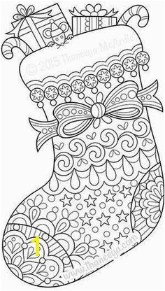 Candy Cane Coloring Pages for Adults Christmas Square Cross Stitch Chart