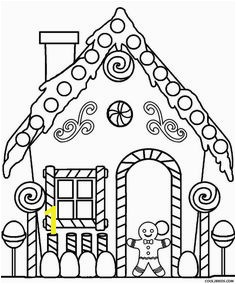 Candy Coloring Pages for Gingerbread House Free Christmas Coloring Pages Gingerbread Man Coloring Sheets
