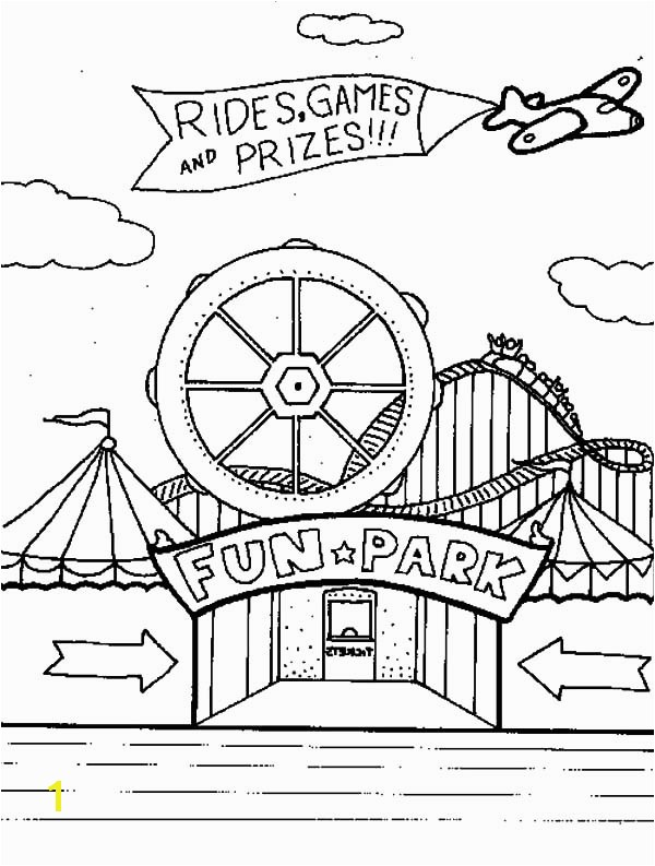 carnival coloring pages for preschool PICT