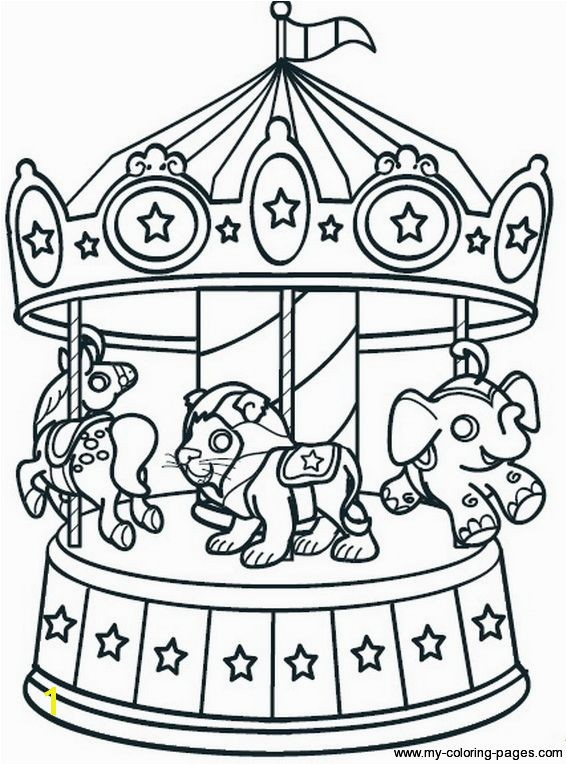 carousel coloring sheets Google Search