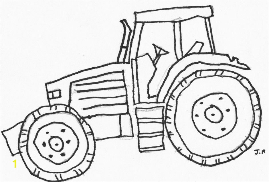John Deere Tractor Coloring Pages To Print Tractor Coloring