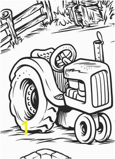 Top 25 Free Printable Tractor Coloring Pages line