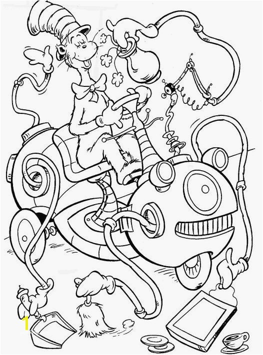 Cat In The Hat Coloring Pages Foxy Cat In The Hat Coloring Pages Coloring Pages Image