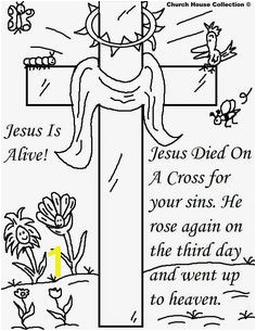 25 Religious Easter Coloring Pages Free Activity Printables Printable