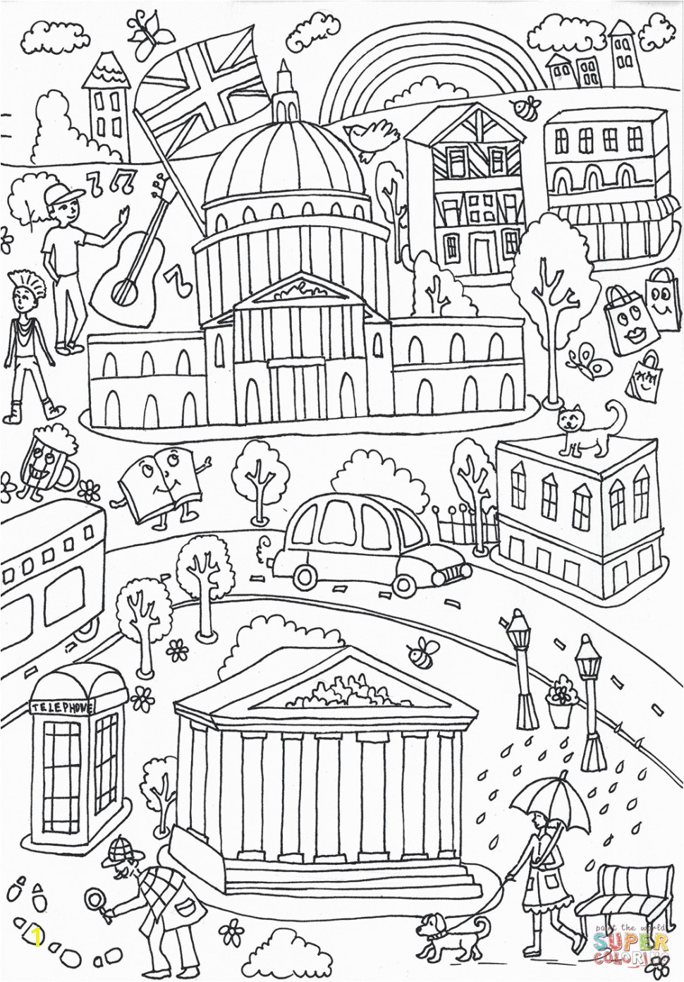 Crammed Central Park Coloring Pages Science Museum Battersea Page For 4 Tgm Sports