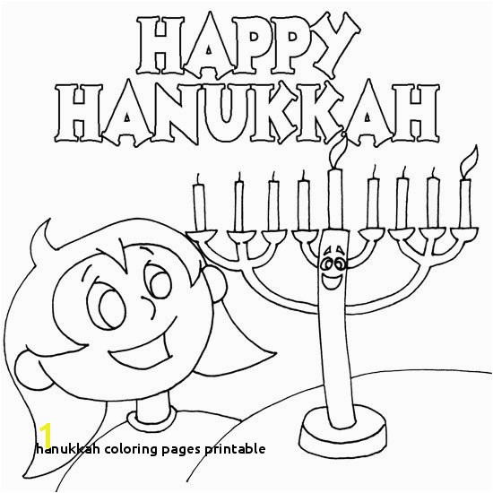 21 Hanukkah Coloring Pages Printable