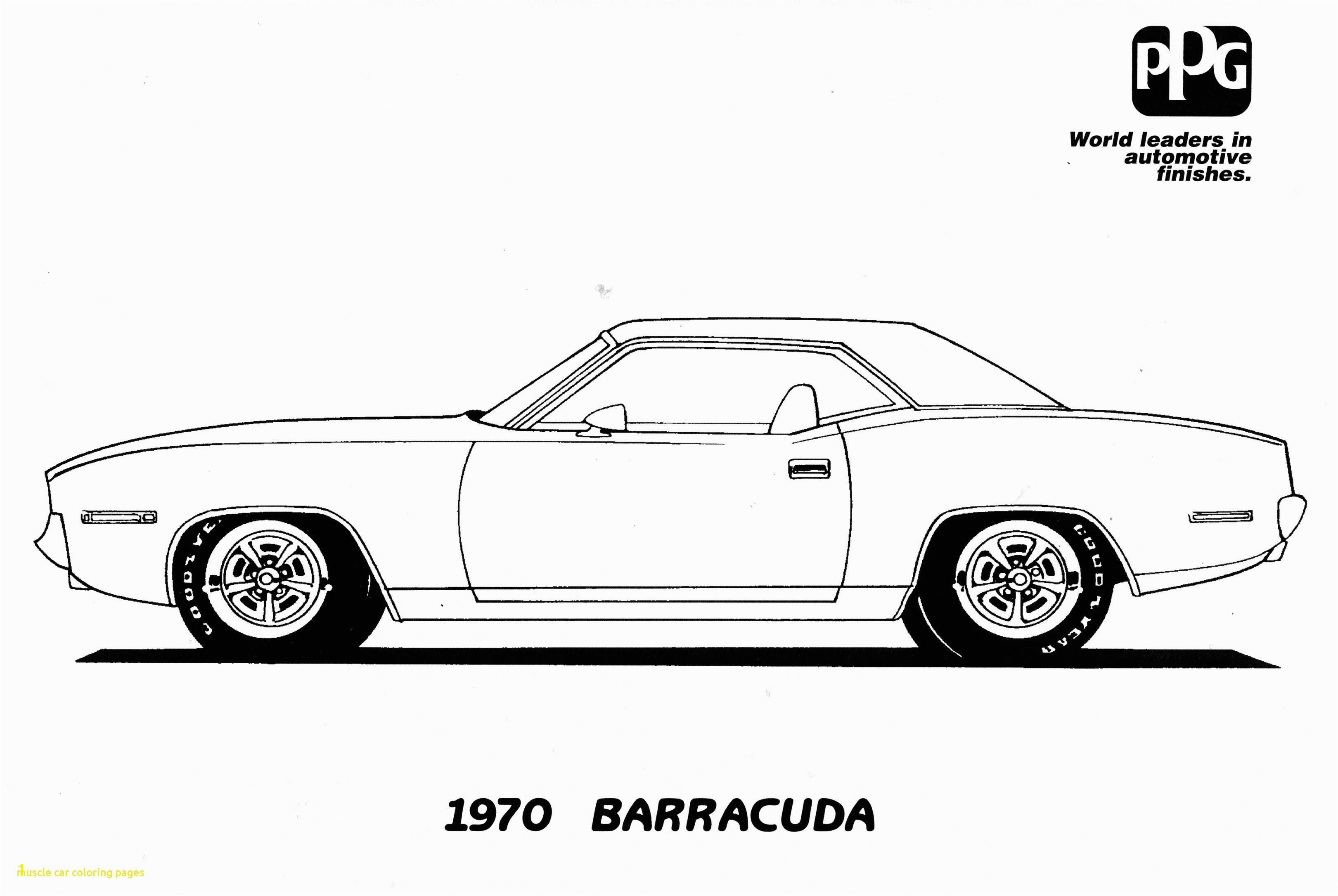 Muscle Car Coloring Pages New Old Cars Coloring Pages Unique 1970 Chevelle Coloring Page Worksheet