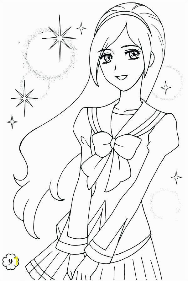 Chibi Anime Girl Coloring Pages Anime Chibi Coloring Pages for Girls Free Unique Coloring Pages for