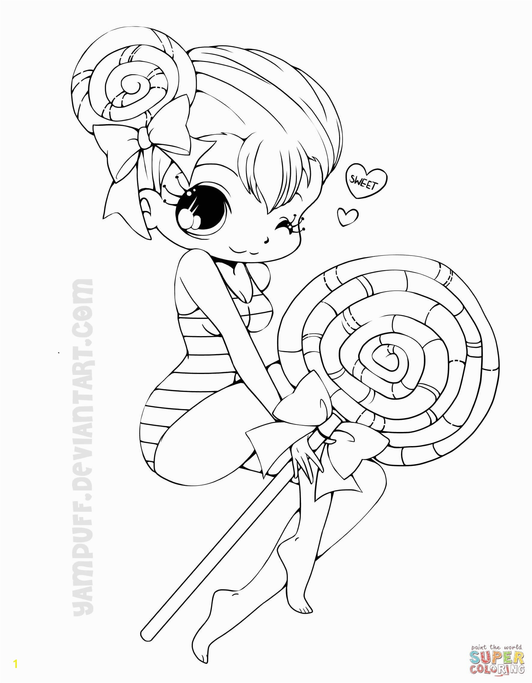 Printable Anime Coloring Pages Luxury Cute Anime Chibi Girl Coloring Pages