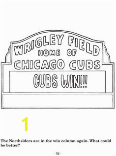 chicago cubs coloring pages flytheW