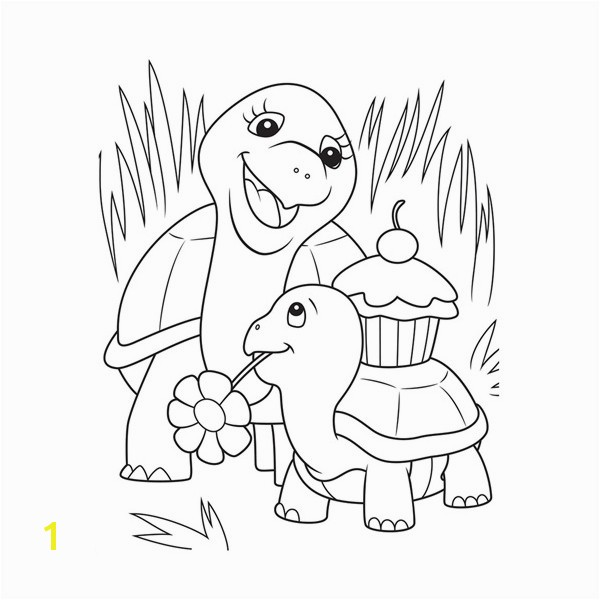Animal Childrens Coloring Page Within Childrens Coloring Pages