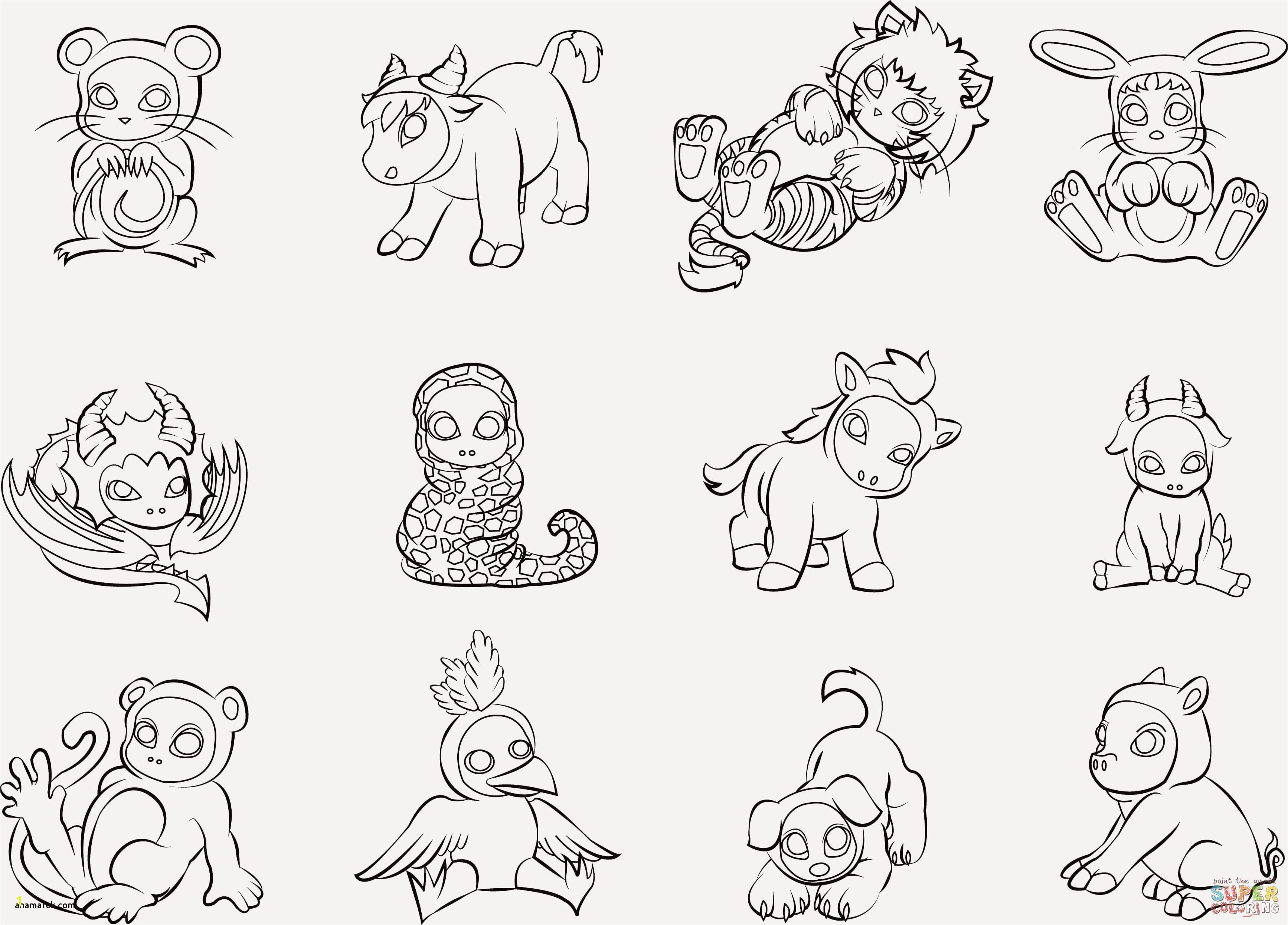 Anime Animals Coloring Page Beautiful Childrens Coloring Pages Animals Unique Fresh Od Dog Coloring Pages