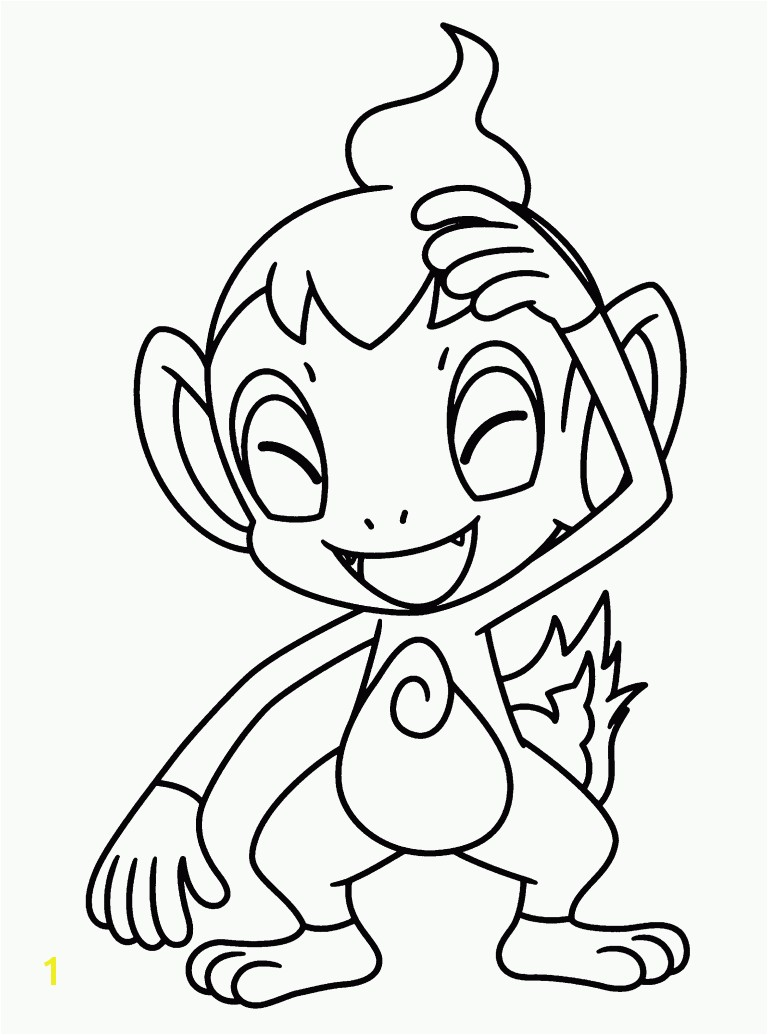 Pokemon Coloring Pages Chimchar 8 Wondrous Design 9ipb7yr4t 6 Jpg 768x1035