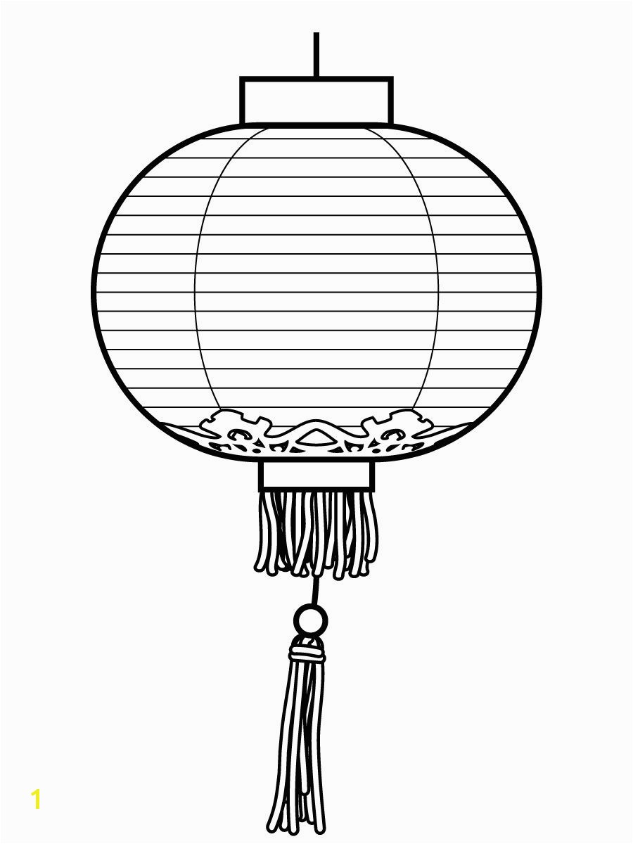 Chinese Lantern Coloring Sheet ChineseNewYear ColoringSheets Lanterns