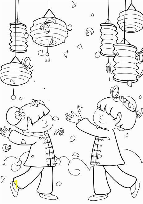 Chinese Lantern Festival 2015 Worksheets Kids Activities Drawings Coloring Sheets