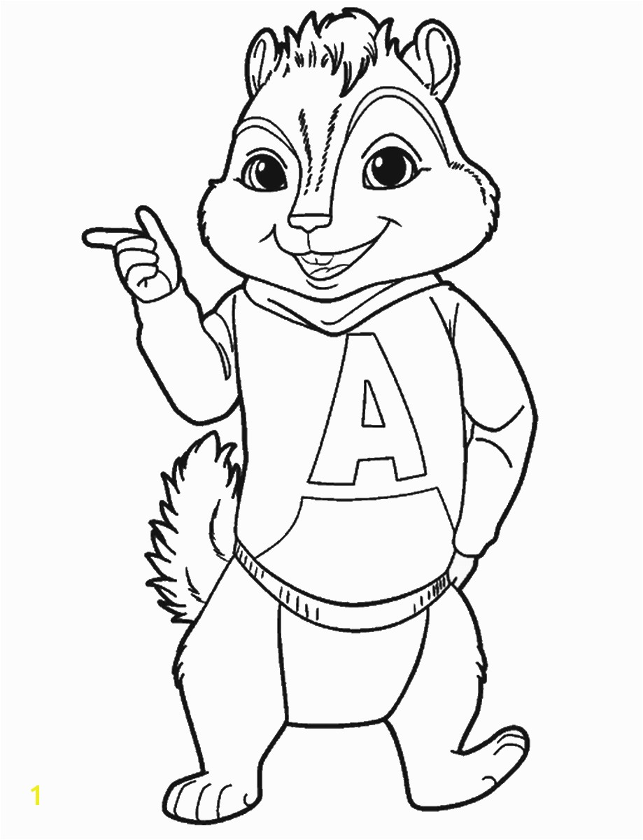 Alvin Coloring Pages Gallery 012