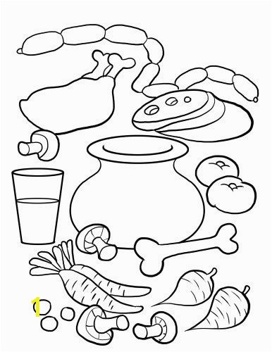 Stone Soup Coloring Page For Kids Stone Soup written by Jon J Muth is a lovely s