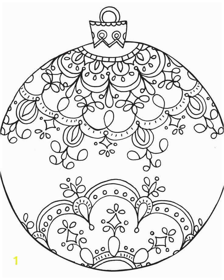 "235 Best Icolor ""christmas Trees"" Pinterest Christmas ornament Coloring Pages"