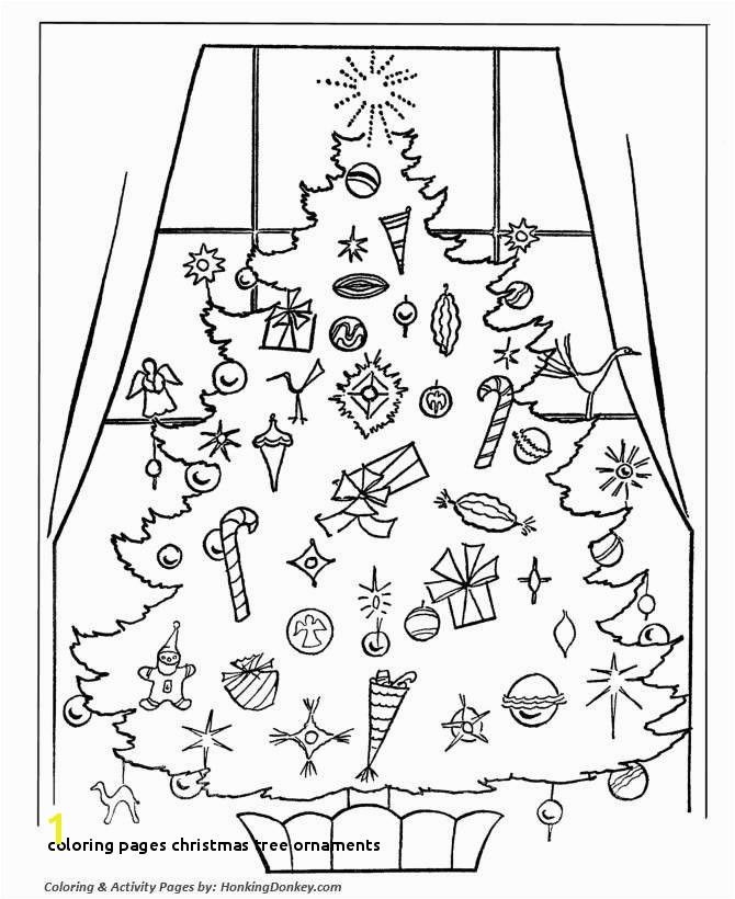 36 Inspirational Christmas Tree Coloring Page with ornaments Pics