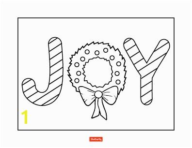 joy coloring page
