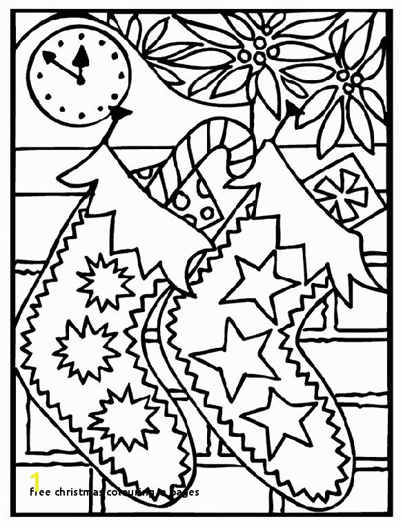 29 Free Christmas Colouring In Pages