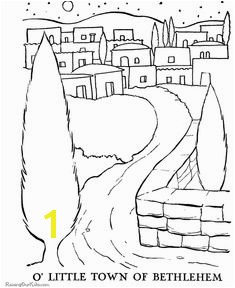 The Christmas Story coloring pages 02