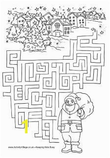 Santa maze So many fun activities on this site Word scrambles coloring pages Christmas