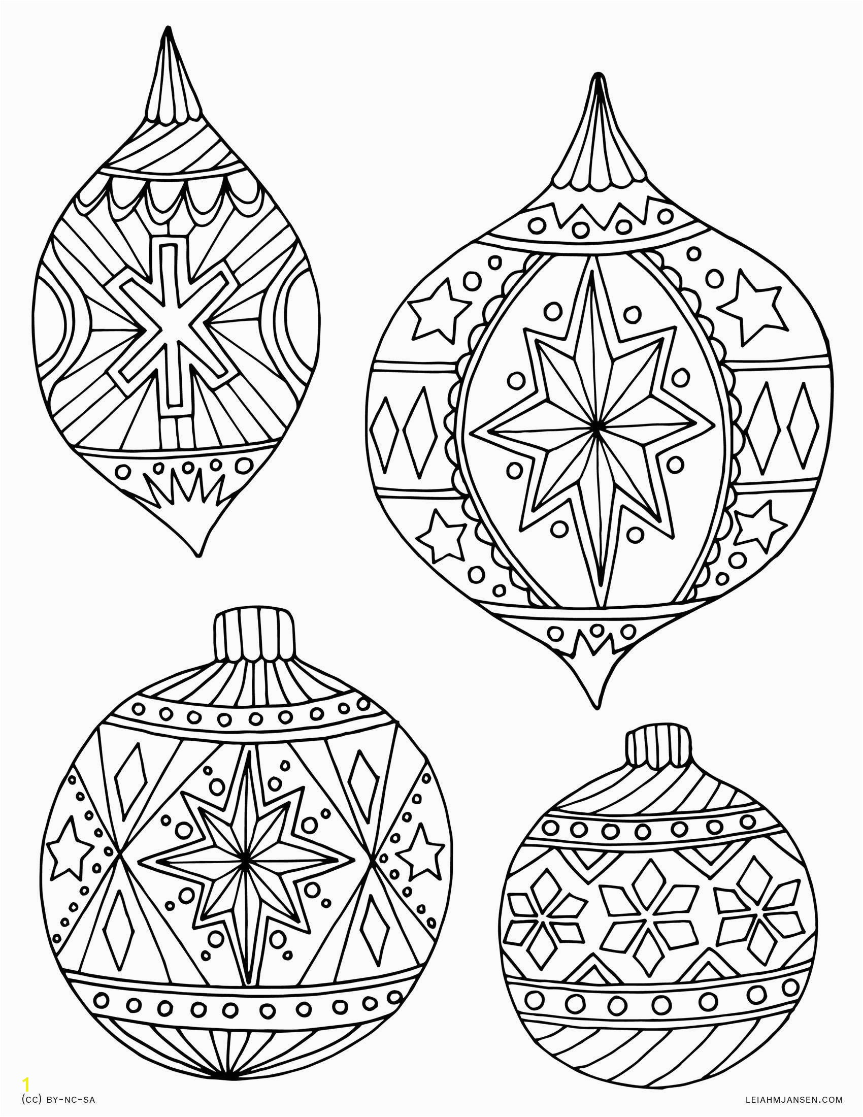 Coloring Worksheets Christmas Ornaments New Christmas Balls Coloring Pages Coloring Pages Christmas Ornaments