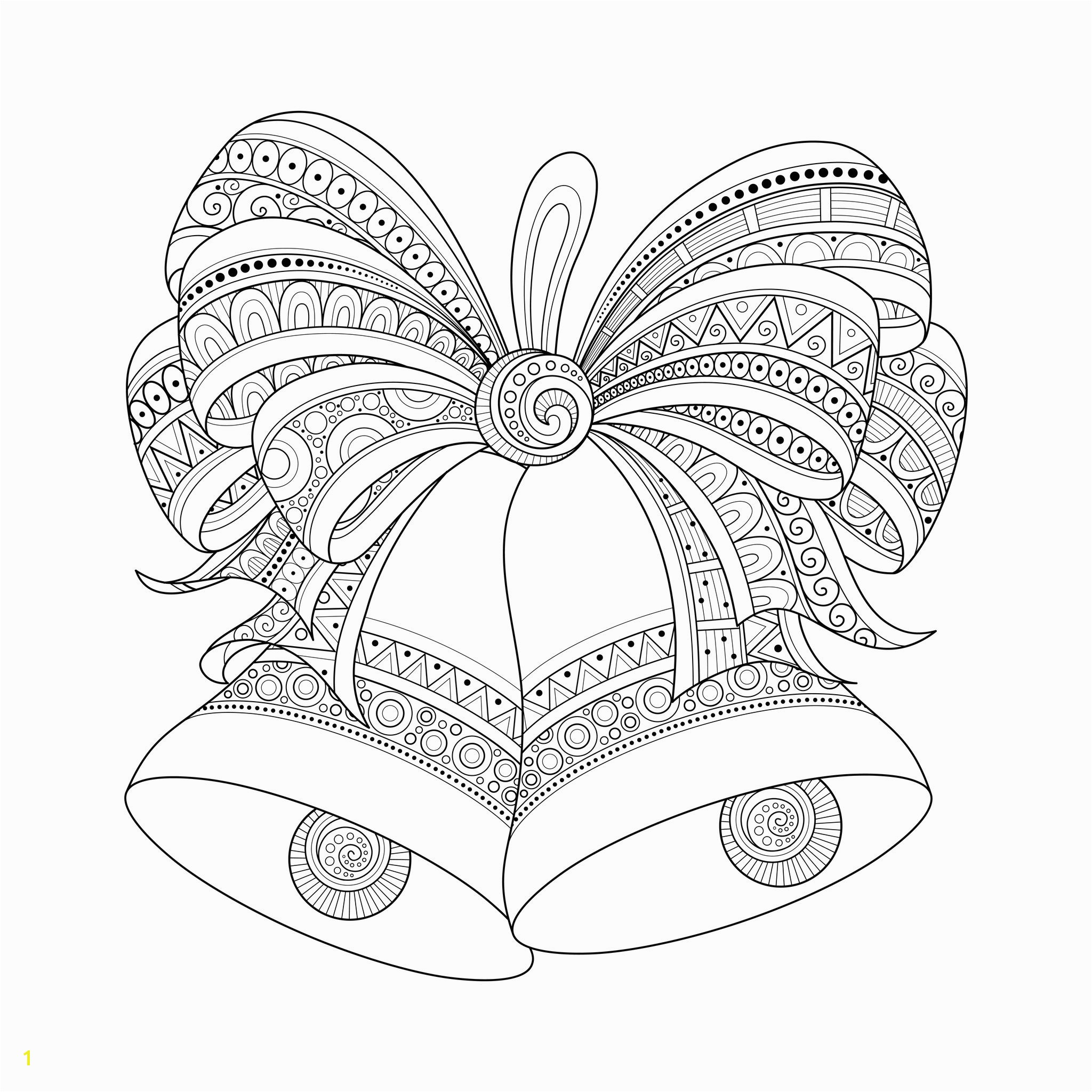 Christmas Printable Coloring Pages for Adults Christmas Coloring Pages for Adults